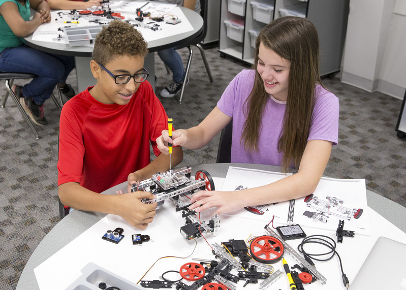 Programming is an increasingly important STEM activity in schools, and PULSE provides educators a way to easily introduce programming at the middle school level.