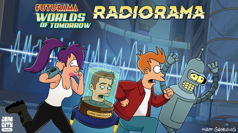 FUTURAMA Is Back!  Jam City and Futurama: Worlds of Tomorrow Release New Double-Length Podcast Episode from the Show's Creators, Now Available!!
