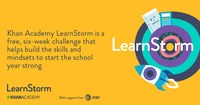 LearnStorm is open to all students and classrooms in grades 3-12 across the US.