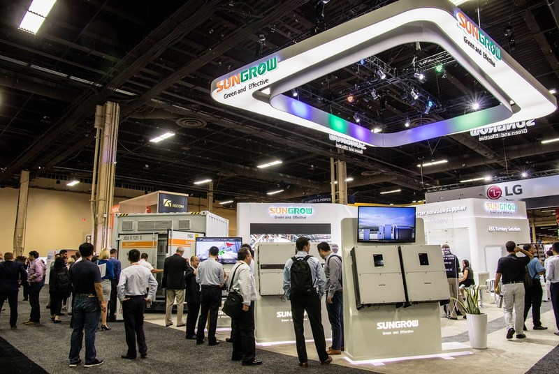 Sungrow Booth in SPI