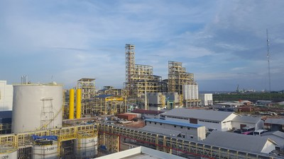 General view of the Sinar Mas Cepsa oleochemical plant in Indonesia (PRNewsfoto/Cepsa)