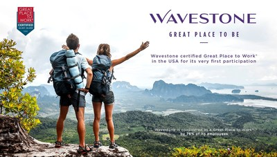 Wavestone Certified Great Place to Work® in the USA for its Very First Participation (PRNewsfoto/Wavestone US)
