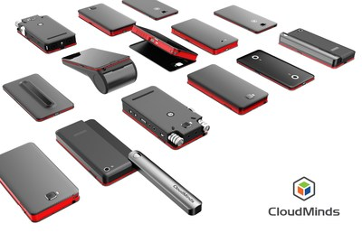 CloudMinds has developed a DATA controller between the cloud brain and devices connected to the brain, which not only has the basic functions of a phone but also supports comprehensive hardware and software customization, thereby representing a significant milestone in the development o cloud-connected intelligent devices.