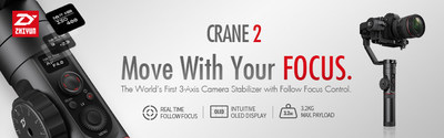 Follow your FOCUS while moving with the Crane 2