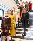 Olivia Palermo Debuted The Highly-Anticipated Banana Republic x Olivia Palermo Collection At New York Fashion Week