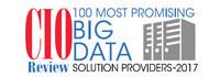 CIO Review: Top 100 Big Data Solution Providers 2017