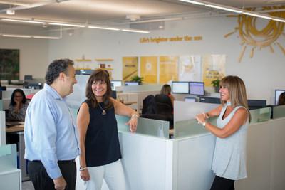 La marque Sun Life est présente partout dans cet immeuble imaginé pour le «client d'abord». (Groupe CNW/Financière Sun Life inc.)