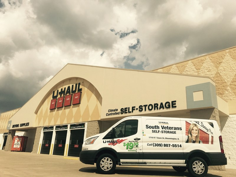 U-Haul will host a grand-opening event Sept. 19 to showcase its contemporary two-story indoor self-storage facility at 1710 R T Dunn Drive, site of the former Tom's Foods.