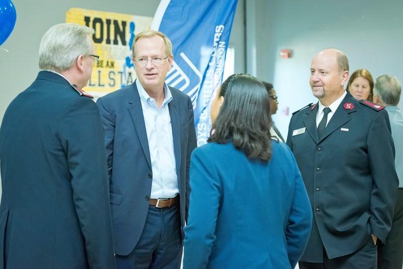 BGCA President & CEO Jim Clark at Boys & Girls Clubs of Greater Houston on Sept. 11, 2017.