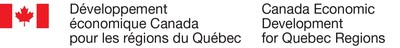 Logo : Développement économique Canada pour les régions du Québec (Groupe CNW/Développement économique Canada pour les régions du Québec)