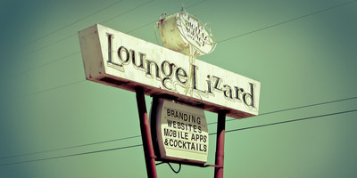 Lounge Lizard New York Website Design
