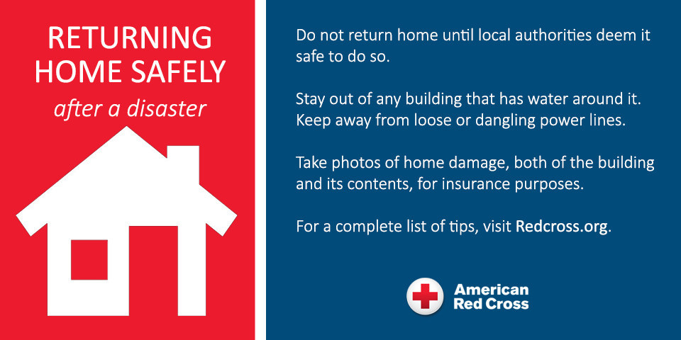 Safety Tips for Returning Home