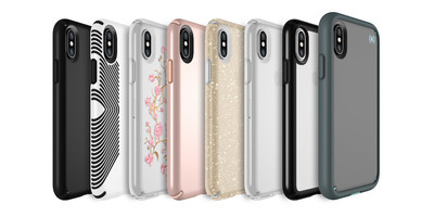 Speck's lineup of cases for the iPhone X