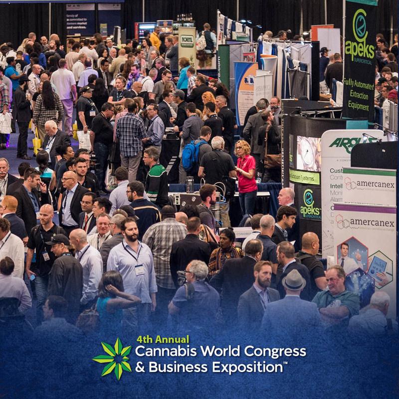 CWCBExpo Los Angeles, September 13-15, 2017, CannabisMeansBusiness.com (PRNewsfoto/Cannabis World Congress & Busin)