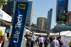 Back for its third year, Best Buy Canada's Life & Tech Festival is taking place at Yonge-Dundas Square. The three-day free public event showcases the latest and greatest in emerging technology. (CNW Group/Best Buy Canada)