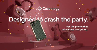 Caseology Combines Elegance and Rugged Protection in New Cases for Apple iPhone X, iPhone 8 and iPhone 8 Plus (PRNewsfoto/Caseology)