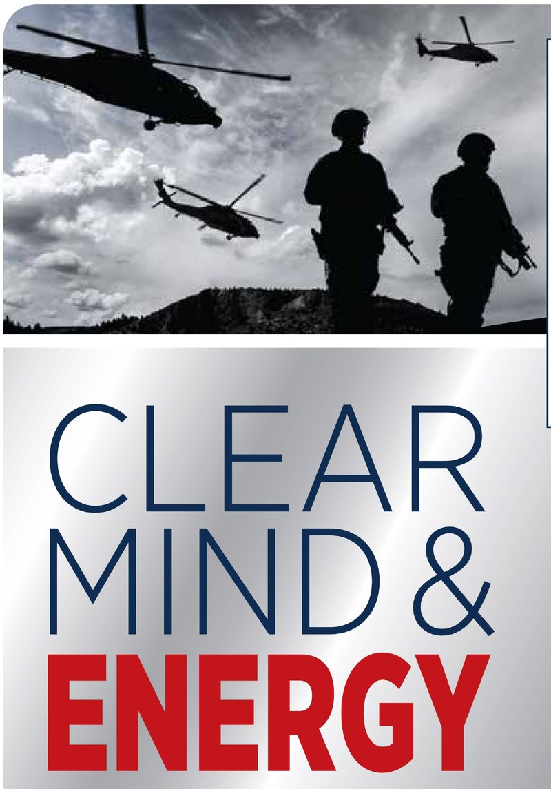 A portion of Clear Mind & Energy's sales goes to support medical care and treatment of our Veterans. www.WAFTBI.org