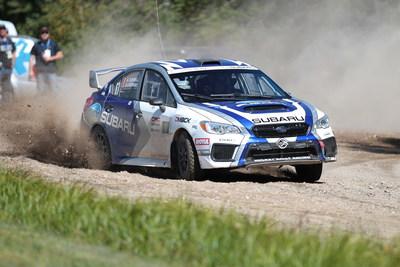 L'Équipe canadienne des rallyes Subaru remporte la victoire au difficile Rallye Défi 2017 (Groupe CNW/Subaru Canada Inc.)