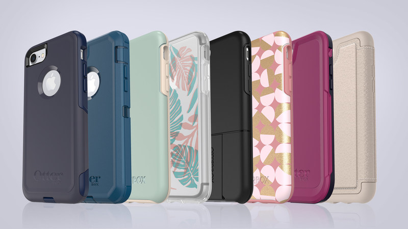 OtterBox announces a full line-up of cases for iPhone 8, available now on otterbox.com. Cover iPhone 8 from drops, dings and the daily hustle with Symmetry Series, Pursuit Series, Defender Series, Commuter Series, uniVERSE Case System, Strada Series Folio and Alpha Glass screen guards. (PRNewsfoto/OtterBox)