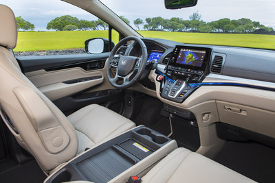 2018 Honda Odyssey Recognized with ?Wards 10 Best UX? User Experience Award