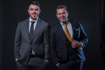 Ben Dankiw and Tyler McConville, co-founders of NAV43, are on a mission to change the way businesses look at digital spending. (CNW Group/NAV43)