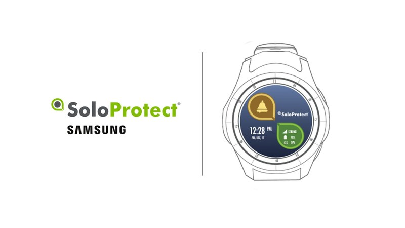 SoloProtect Announces Partnership with Samsung and the Launch with the SoloProtect Watch on the Samsung GearS3