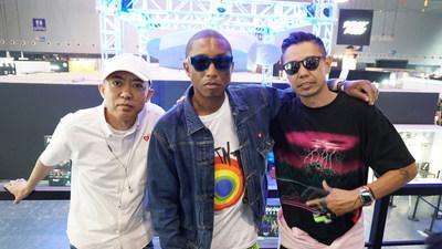 NIGO®, Pharrell Williams and TET at YOHOOD 2017 Global Fashion Carnival