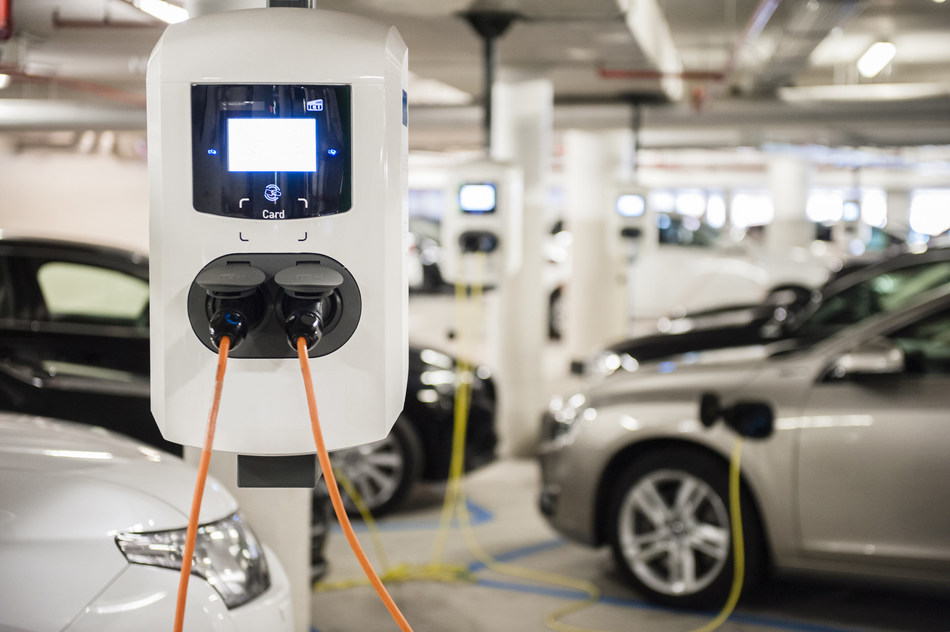 Alfen supplies the European Commission with Charging Infrastructure for Electric Vehicles. (PRNewsfoto/Alfen)
