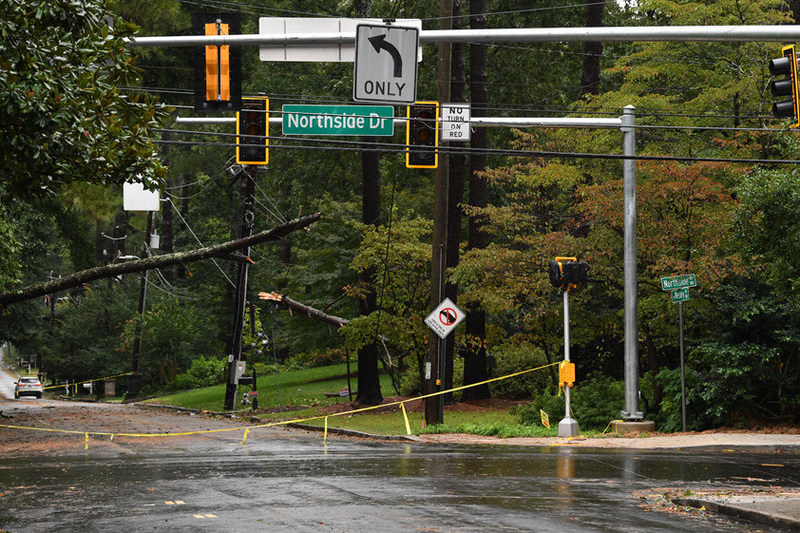 Storm Damage: West Paces Ferry Atlanta