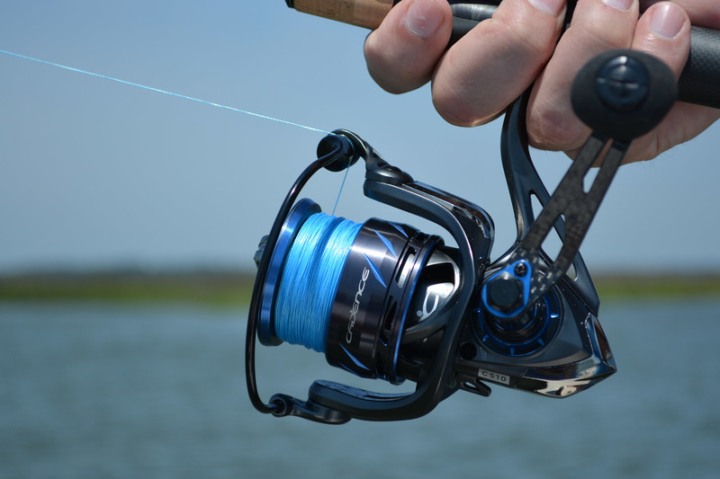 The Cadence CS10 series of spinning reels will exceed your expectations with features, quality, and design you have come to appreciate in spinning reels above $150. The ultra lightweight design is made possible with a magnesium and carbon composite construction.