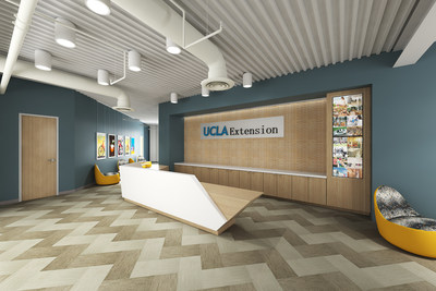 The new state-of-the-art UCLA Extension Woodland Hills location.