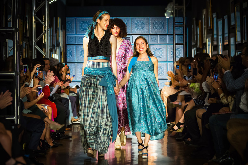 Marisol Deluna presents new collection during New York Fashion Week