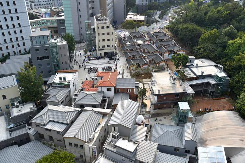 The Donuimun Museum Village where the Thematic Exhibition is taking place