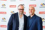 Alexandre Taillefer, associé principal, XPND Capital et Charles Grandmont, rédacteur en chef de L'actualité. (Groupe CNW/L'actualité)
