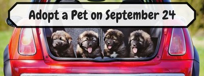 Long Island residents are invited to the Semi-Annual Pet Adoption Day hosted by Donaldsons Volkswagen on Sept. 24.