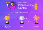 Carmel Limo Announces, 'Practice Safe 6 Contest.' With a Chance to Win $1,000, $500 or $250 Worth of Free Rides