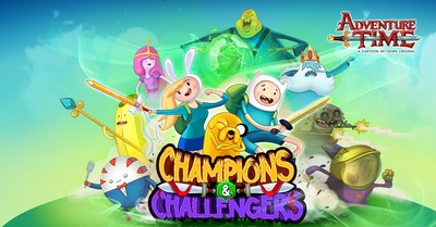 Champions and Challengers - Adventure Time Key Art