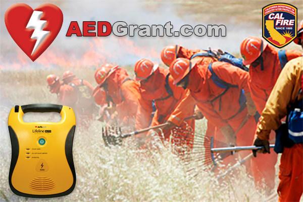 Cal Fire Deploys 186 Lifesaving AEDs (Automated External Defibrillators) to Crews throughout California