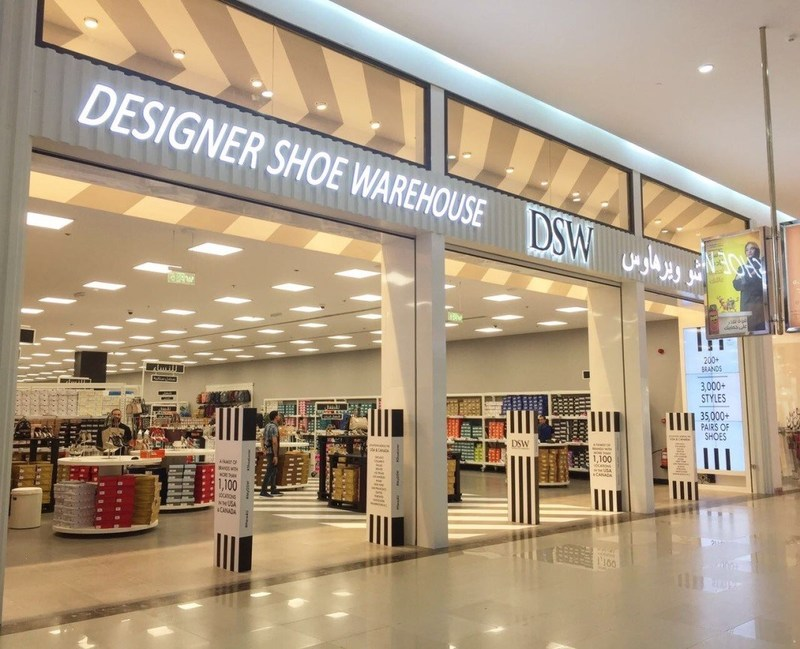 DSW Designer Shoe Warehouse Opens First Warehouse in Saudi ...
