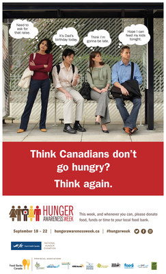 Think Canadians don't go hungry? Think again. (CNW Group/Food Banks Canada)