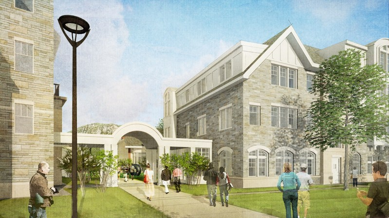 S/L/A/M rendering of Chapel Haven campus expansion