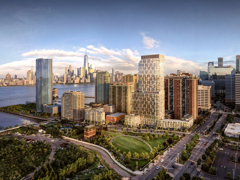 Park and Shore, a new luxury condominium development located in New Jersey's hottest neighborhood, Jersey City.