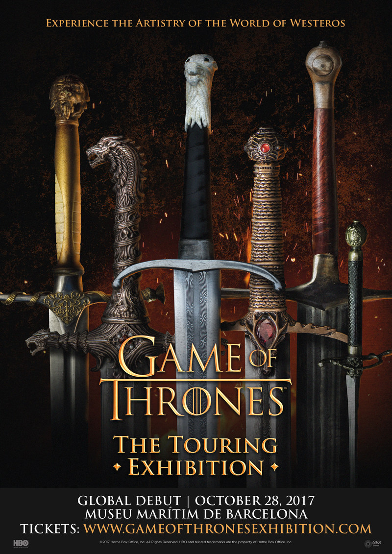 Game Of Thrones®: The Touring Exhibition Will Kick Off Its Worldwide Tour In Barcelona, Spain