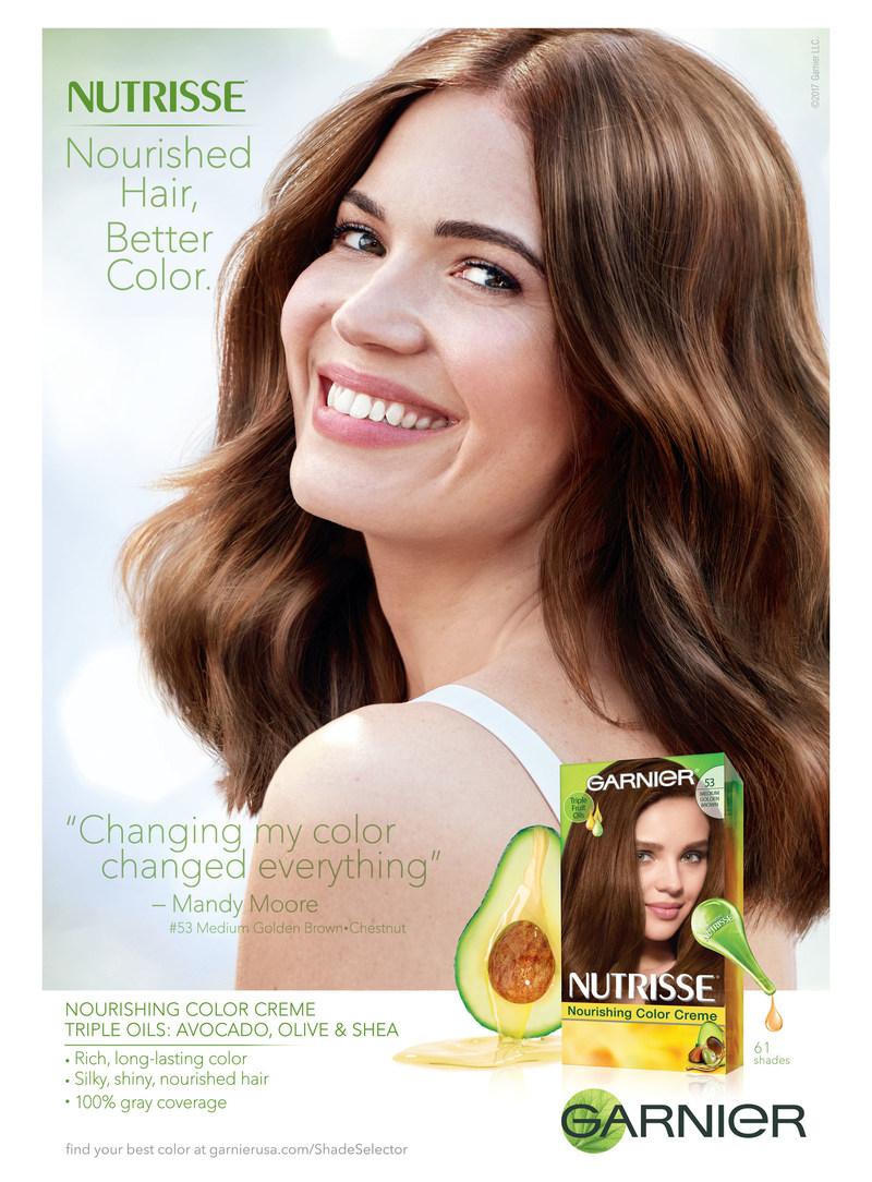 Mandy Moore Print Ad Campaign