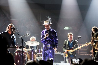 The Tragically Hip's Man Machine Poem Tour in 2016 (CNW Group/CTV)