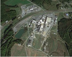 Piedmont Lithium Location and Bessemer City Lithium Processing Plant