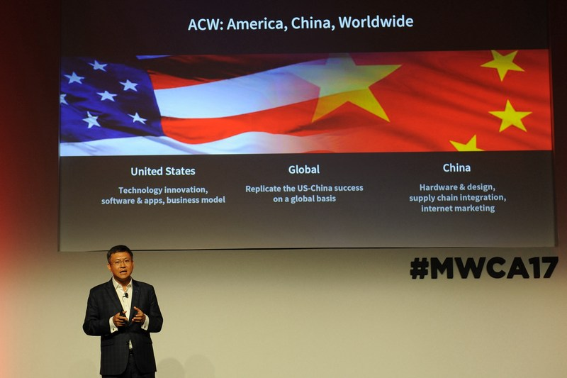 Lixin Cheng, CEO of ZTE Mobile Devices and member of CTIA's Board of Directors and Executive Committee, spoke at the US-China Summit
