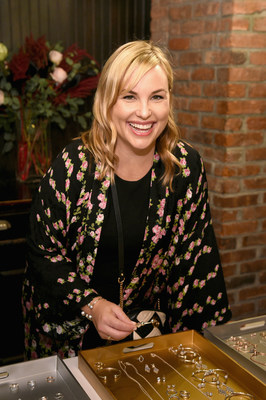 Hillary Kerr, Co-Founder of Who What Wear, at PANDORA Jewelry Bangle Bash, September 13, 2017