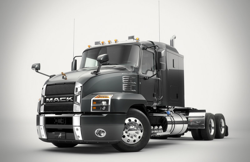 Mack Trucks today introduced the Mack Anthem™, a re-engineered, redesigned and reimagined interpretation of what today's highway truck should be. With new driving and living environments, the Mack Anthem gives drivers and businesses the tools they need to command the road. The Mack Anthem is available in several configurations, including Day Cab, 48-inch Flat Top sleeper, and an all-new 70-inch Stand-Up sleeper option.