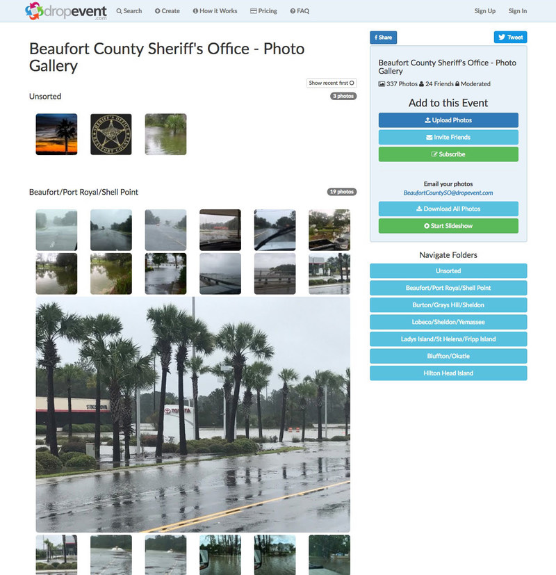 Gallery containing photos from over a dozen officers